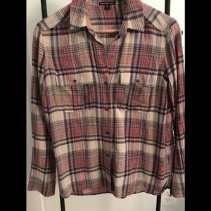 James Perse button up top