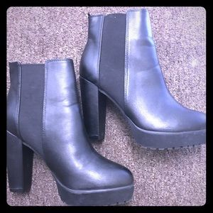 H & M Black Ankle boots