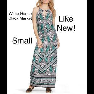 White House Black Market Geo Print Maxi