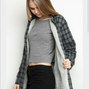 Brandy Melville fur coat