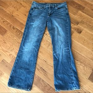 Lucky brand jeans. Sweet n low style.  10/30 ankle