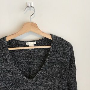 Peppered sweater