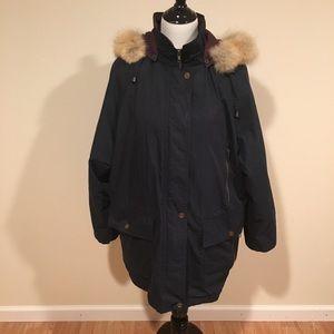London fog utility winter jacket
