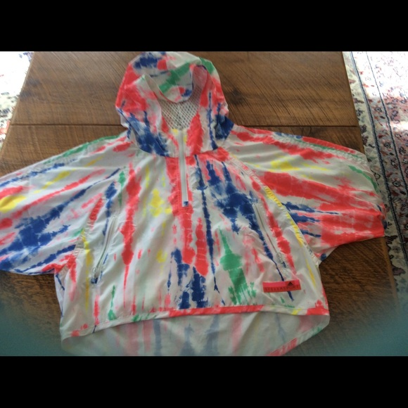 2e45c4c9a418 Adidas by Stella McCartney Jackets & Blazers - Adidas Stellasport hooded  sport jacket