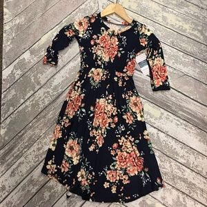 Other - Little Girls Floral Midi Dress