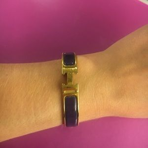 Hermes h clic bracelet in limited edition color