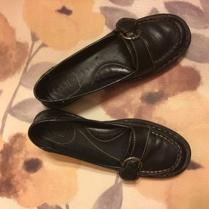 Born Leather Ladies Loafers