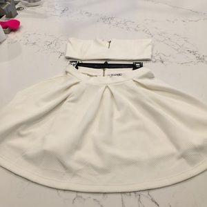 SABO Skirt brand skirt with tube top