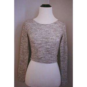 Heather Gray Crop Top