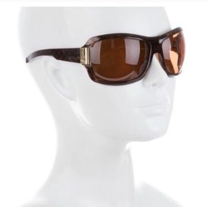 Brown Tortoiseshell Gucci Oversize Sunglasses
