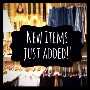 Check out my new items added.Click on Just In !!