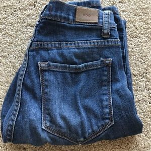 BDG high rise classic skinny blue jeans