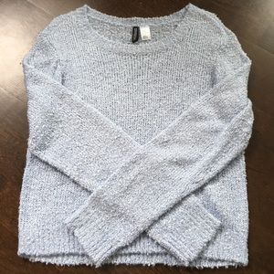 H&M baby blue knit