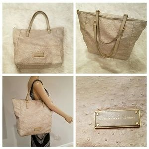 Incredible $880 Marc Jacobs Ostrich Shopper Tote