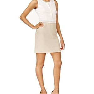 Kensie Lace-Trim Daisy Dress