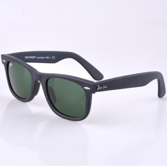 425a1906c17 Original Rayban wayfarer sunglasses matte black! M 59c03062d14d7bd72500f39e