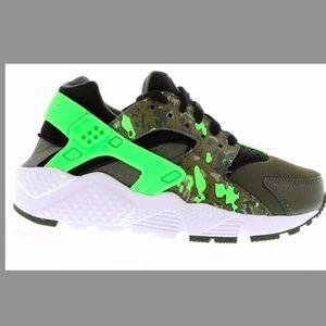 Wmns/Girls Nike Huarache Run Print sz 6.5y/7.5 w*