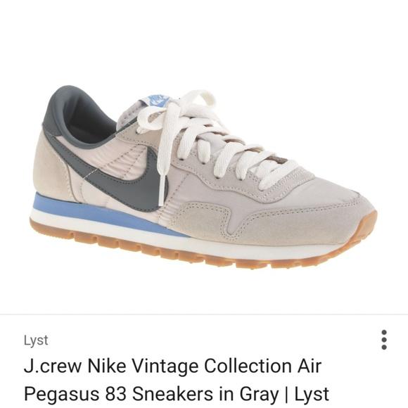 30291f5031934 JCrew Shoes - J. Crew Nike Vintage Collection Air Pegasus 83