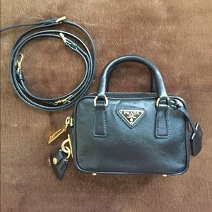 Authentic PRADA Saffiano Mini Crossbody Bag