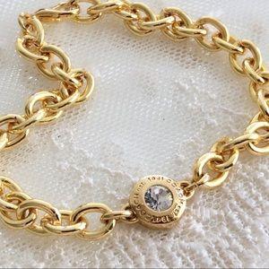 Coach Crystal Snap Charm Bracelet