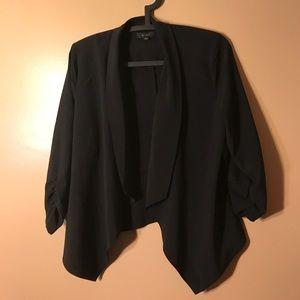 Cardigan blazer jacket