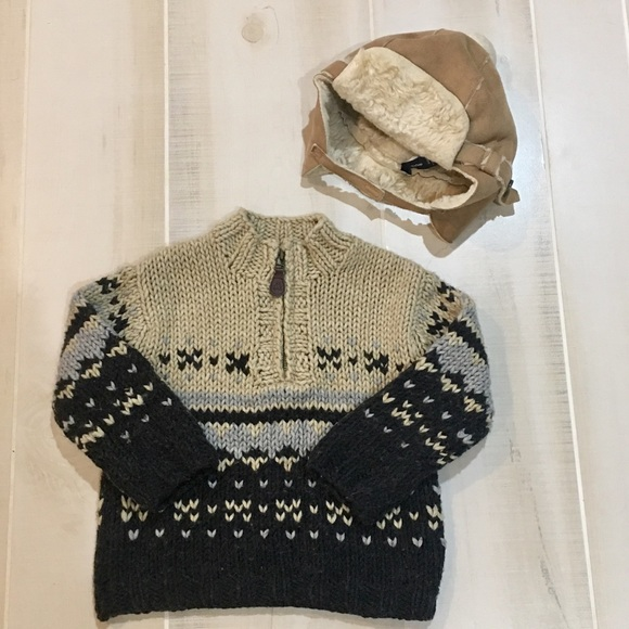 64% off GAP Other - Baby Gap FairIsle Sweater and Baby Gap Hat ...