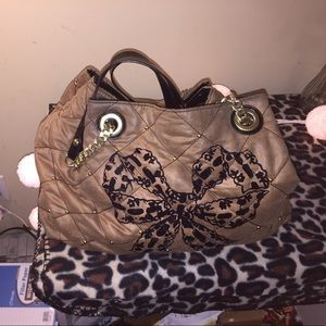 Betsy Johnson shoulder purse