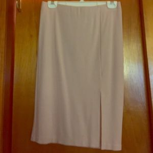 Forever 21 nude pencil skirt