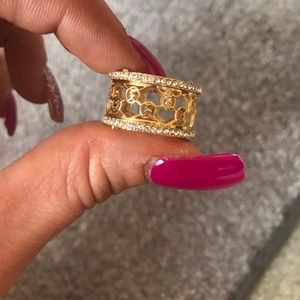 Michael Kors Jewelry - Michael kors gold colored ring size 7