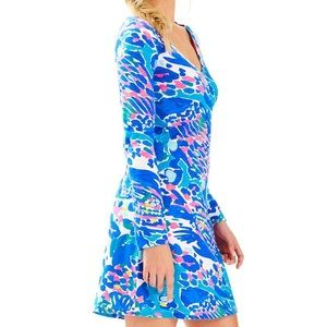 Nwt Lilly Pulitzer Paradis dress Hit The Spot