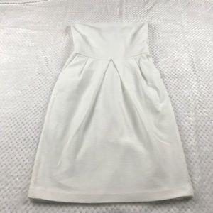 Banana Republic White Strapless Dress - Size 4