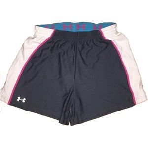 UNDER ARMOUR athletic workout shorts women medium