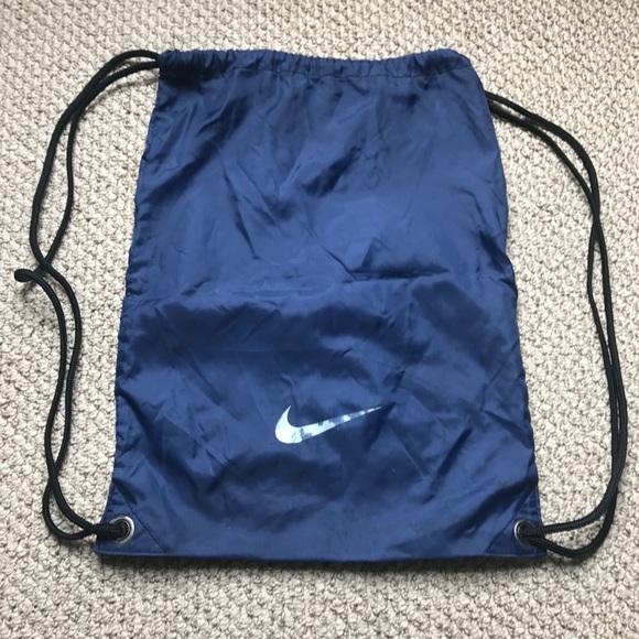 Nike Bags   Final Price Drawstring Bag Backpack   Poshmark 86a16b5fca