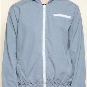 Brandy Melville Blue Krissy Jacket