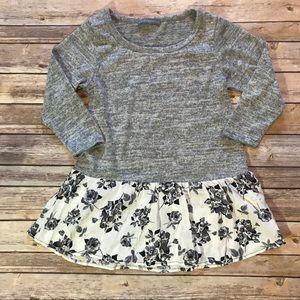5ecaa134ff Loveappella Tops - Loveappella Deline Woven Hem Knit Top. Stitch Fix