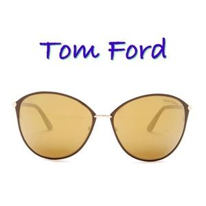 Tom Ford Penelope Rounded Sunglasses