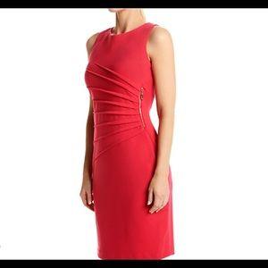 ⚡️Sale Trump Starburst Point Zippered Sheath Dress