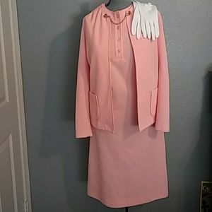 Jackie O style vintage dress suit