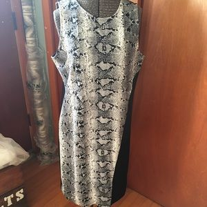 Bar III, previously owned, Snake Print Dress