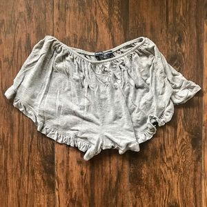 Brandy Melville Soft Grey Shorts