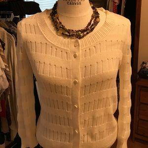 Anne Klein Cardigan Sweater, size M