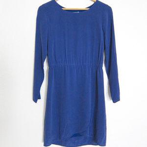 Madewell Silk Gatehouse dress 0/XS