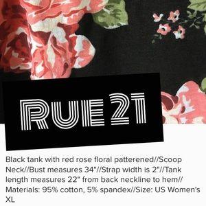 Rue 21 Tops - Rue 21 XL Floral Tank
