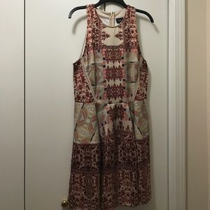 Adorable patterned Mossimo dress
