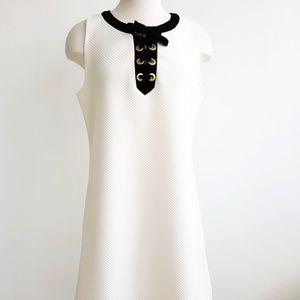 Kensie Cream Sleevless Dress
