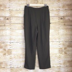 Olive trouser pants