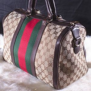Gucci boston bag.