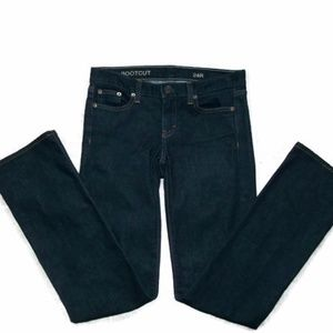 J.Crew Dark Wash Bootcut Jeans-Sz 24R