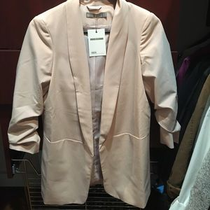 New asos blush blazer