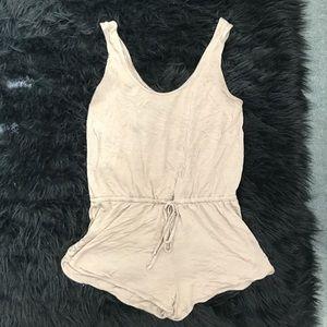 Other - Tan short tank suit